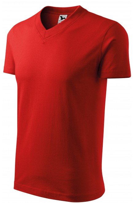T-shirt with short sleeves, medium weight Red