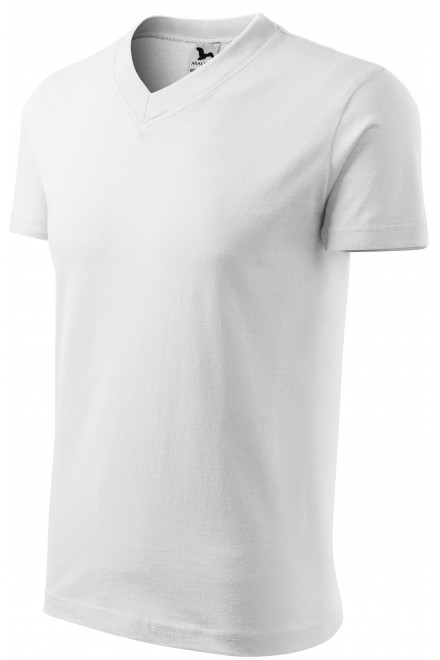 T-shirt with short sleeves, medium weight White