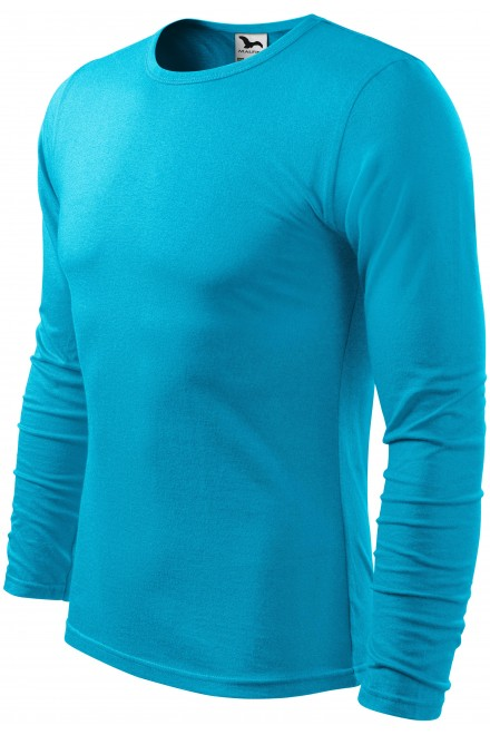 Men's long sleeve T-shirt Bblue atol