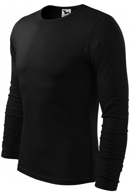 Men's long sleeve T-shirt Black
