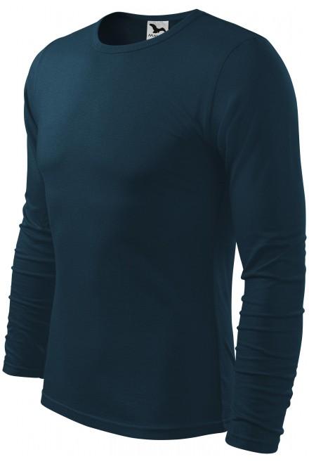Men's long sleeve T-shirt Navy blue