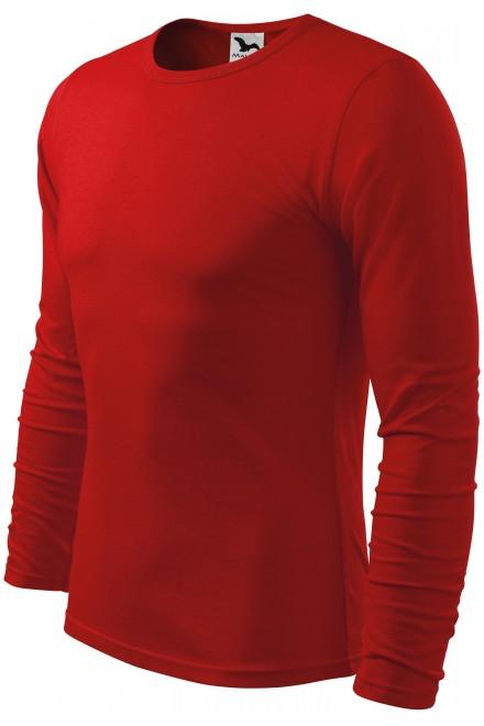 Men's long sleeve T-shirt Red