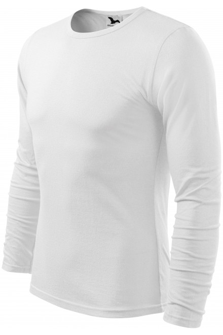 Men's long sleeve T-shirt White