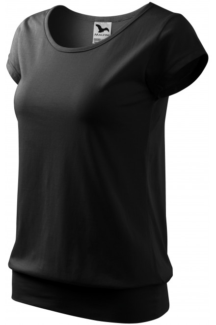 Ladies trendy T-shirt Black