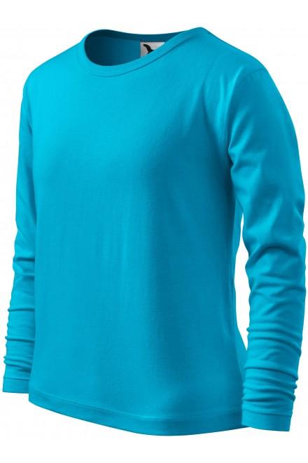 Childrens long sleeve shirt Bblue atol
