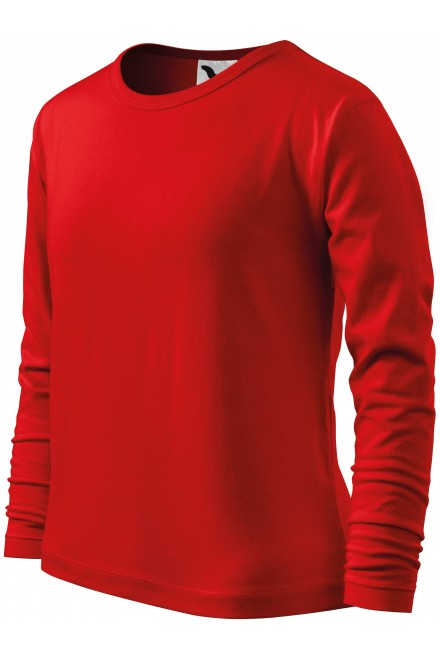 Childrens long sleeve shirt Red