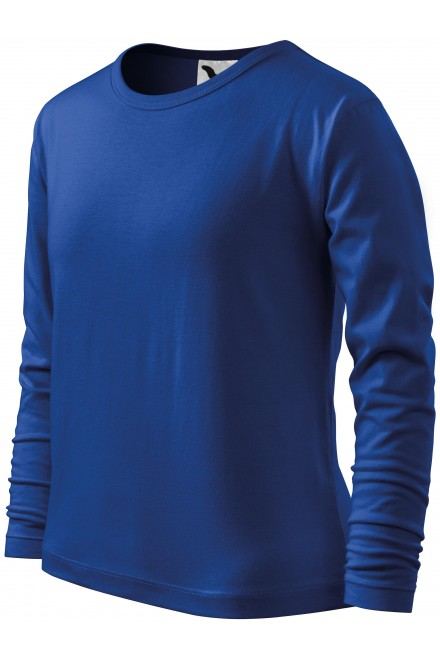 Childrens long sleeve shirt Royal blue