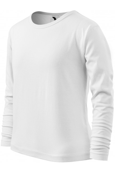 Childrens long sleeve shirt White