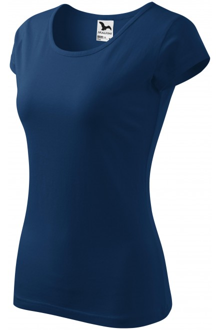 Ladies T-shirt with very short sleeves