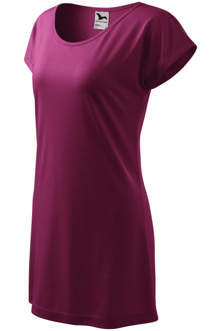 Ladies long T-shirt/dress Rhododendron