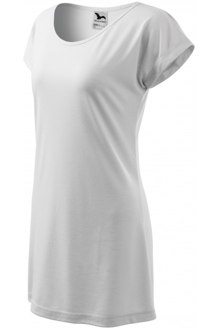 Ladies long T-shirt/dress White