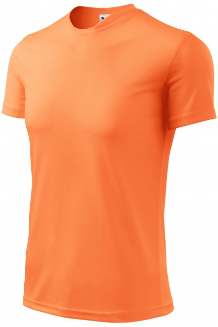 T-shirt with asymmetric neckline