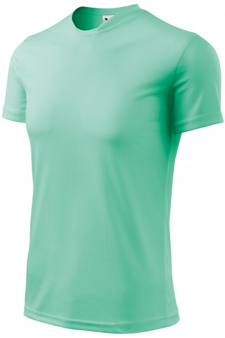 T-shirt with asymmetric neckline Bblue atol