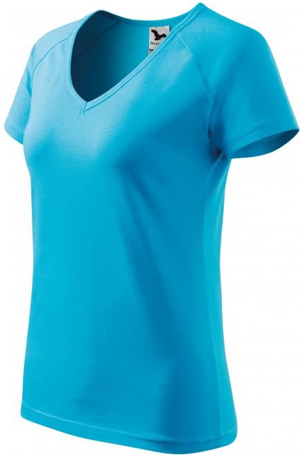 Ladies T-shirt with raglan sleeve White