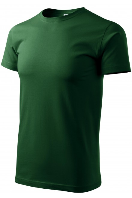 Men's simple T-shirt Apple green
