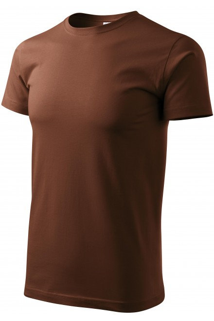 Men's simple T-shirt Chocolade