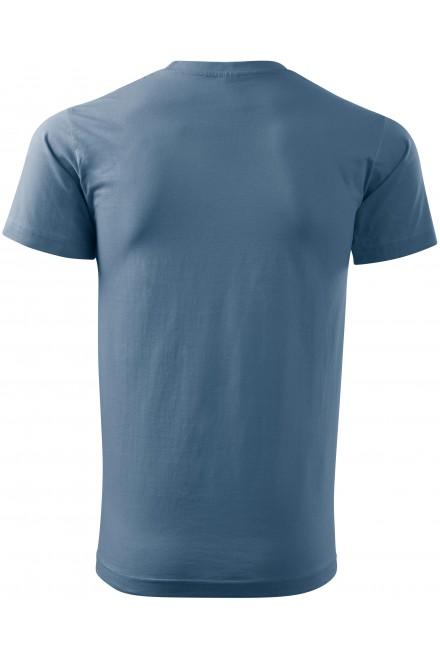 Denim men's simple T-shirt