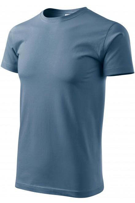Men's simple T-shirt Denim