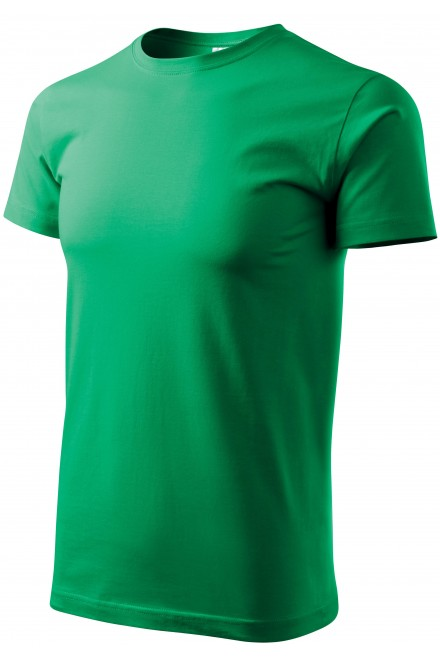 Men's simple T-shirt Kelly green