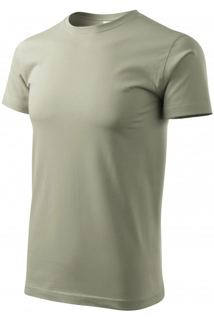 Men's simple T-shirt Light khaki