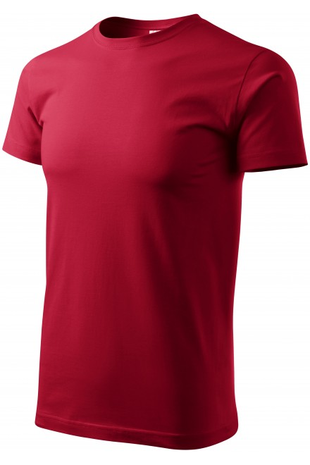 Men's simple T-shirt Marlboro red