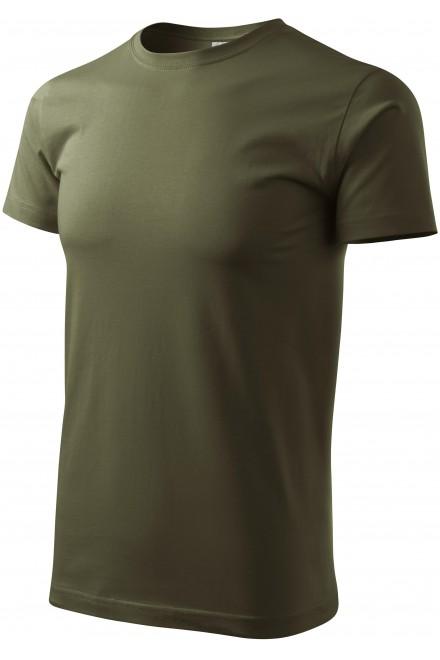 Men's simple T-shirt Military