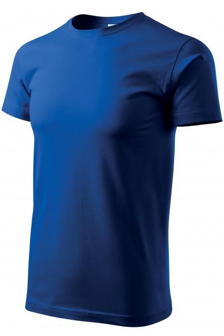 Men's simple T-shirt Royal blue
