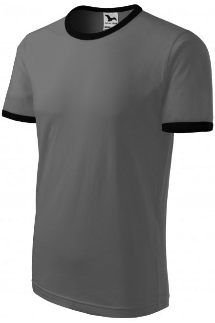 Unisex contrast T-shirt White