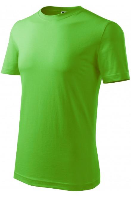 Men's classic T-shirt Apple green