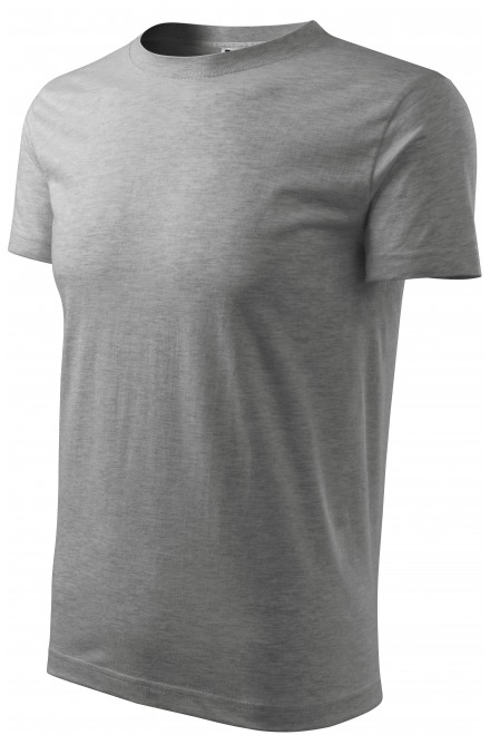 Men's classic T-shirt Dark gray melange
