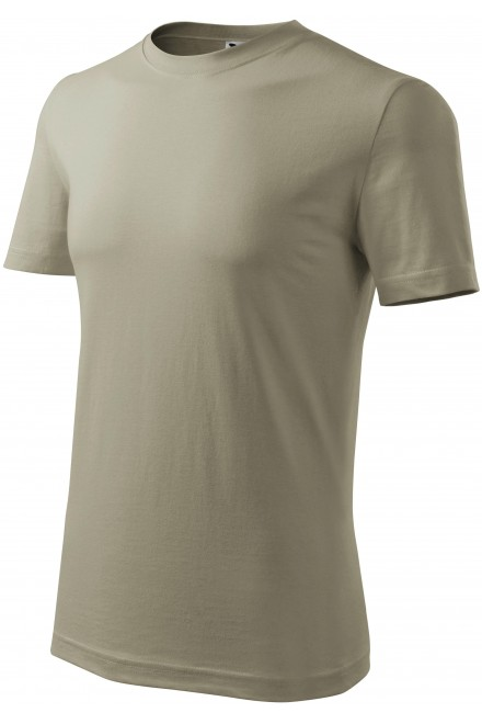 Men's classic T-shirt Light khaki