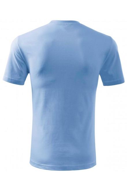 Sky blue men's classic T-shirt