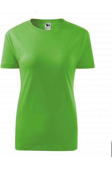 Apple green ladies classic T-shirt