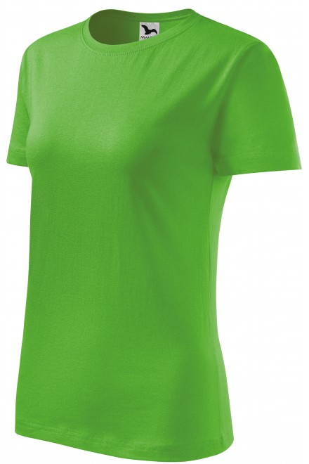 Ladies classic T-shirt Apple green