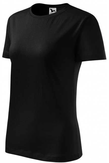 Ladies classic T-shirt Black