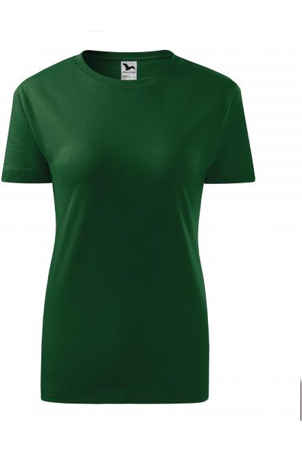 Bottle green ladies classic T-shirt