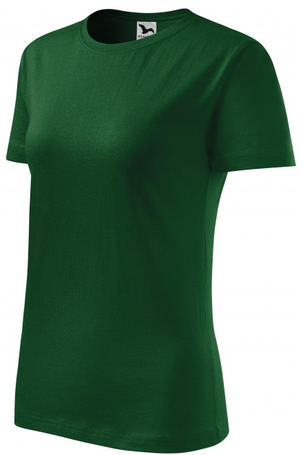 Ladies classic T-shirt Bottle green