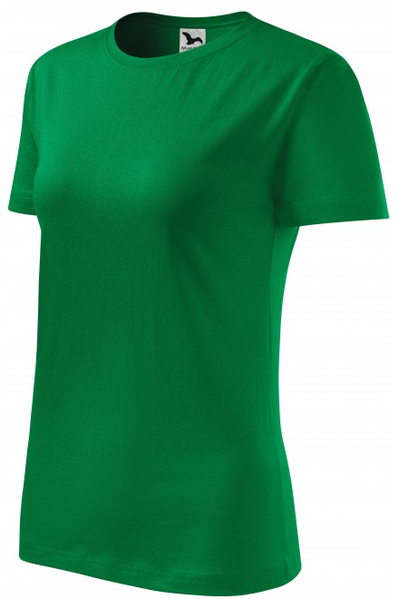 Ladies classic T-shirt Kelly green