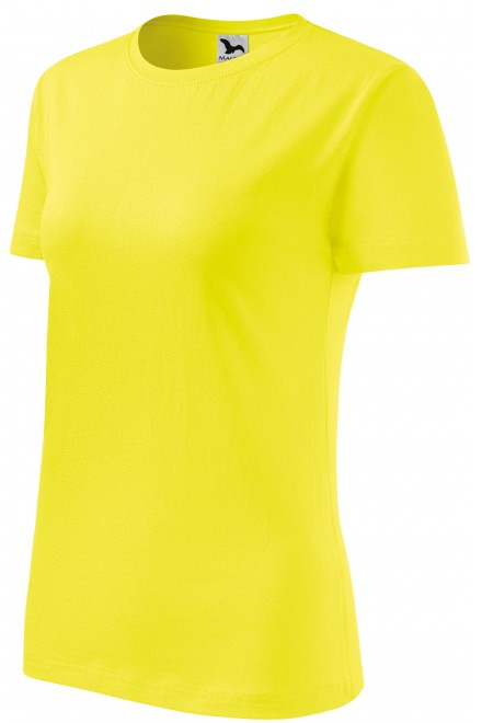 Ladies classic T-shirt Lemon