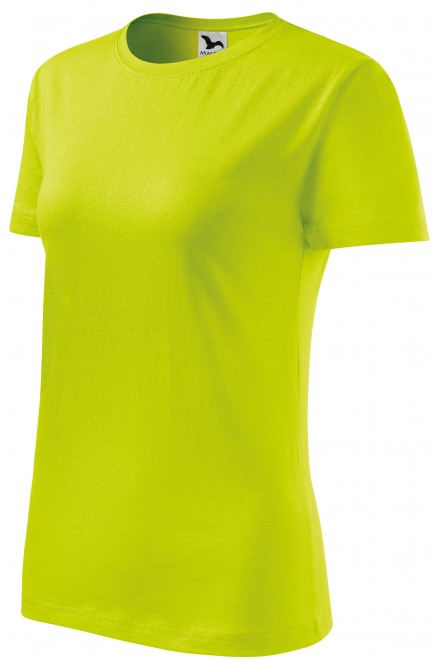 Ladies classic T-shirt Lime green