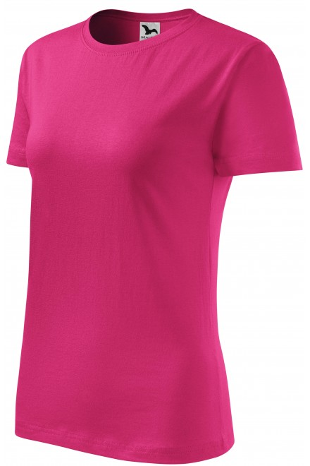 Ladies classic T-shirt Magenta