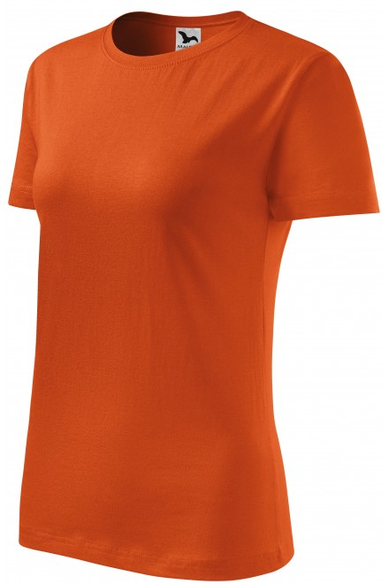 Ladies classic T-shirt Orange