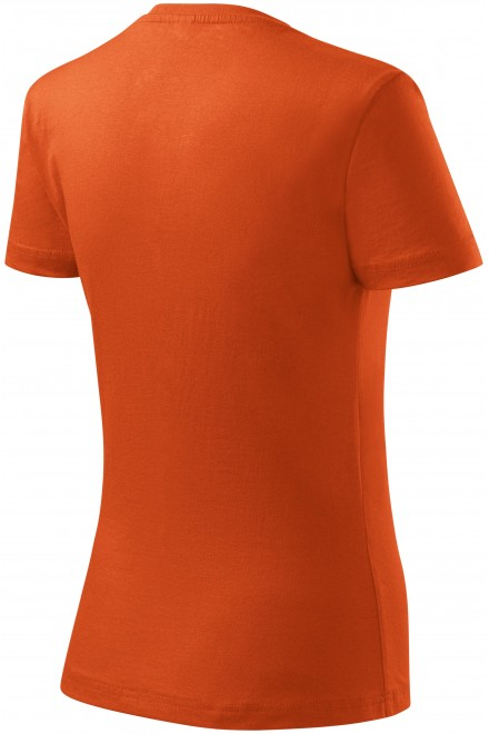 Orange ladies classic T-shirt