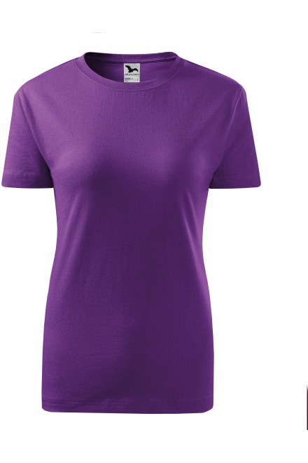 Purple ladies classic T-shirt