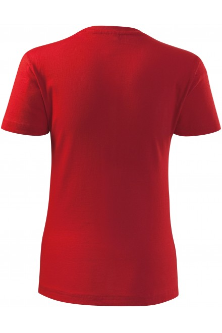 Red ladies classic T-shirt
