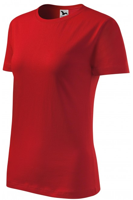 Ladies classic T-shirt Red