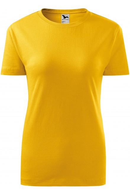 Yellow ladies classic T-shirt