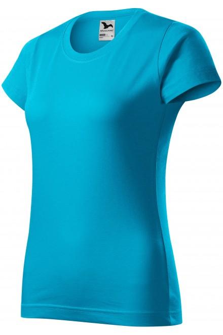 Ladies simple T-shirt Bblue atol