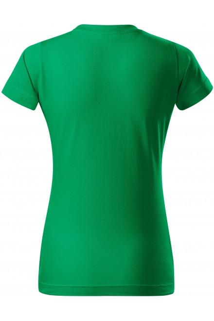 Kelly green ladies simple T-shirt