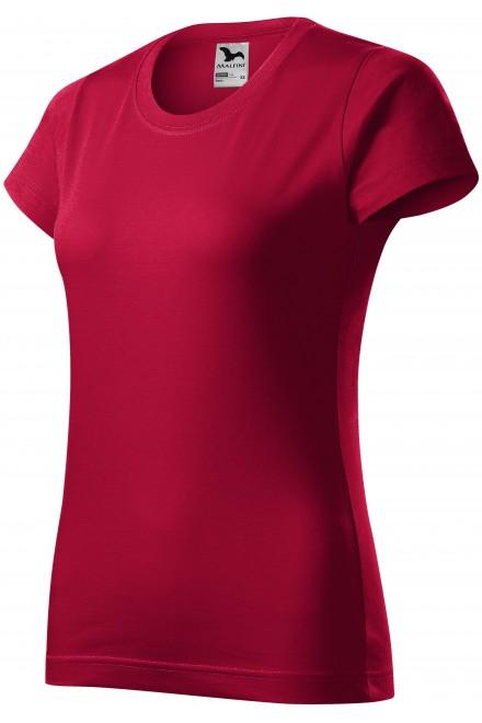 Ladies simple T-shirt Marlboro red